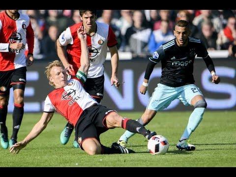 Feyenoord vs Ajax 1-1 Highlights 2016/2017 HD - YouTube
