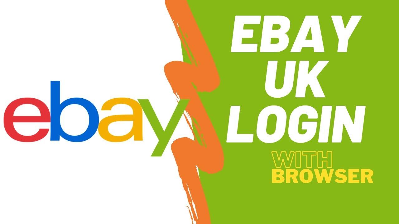 Ebay Uk Login Login To Ebay Uk Account On Phone Ebay Co Uk Login Youtube