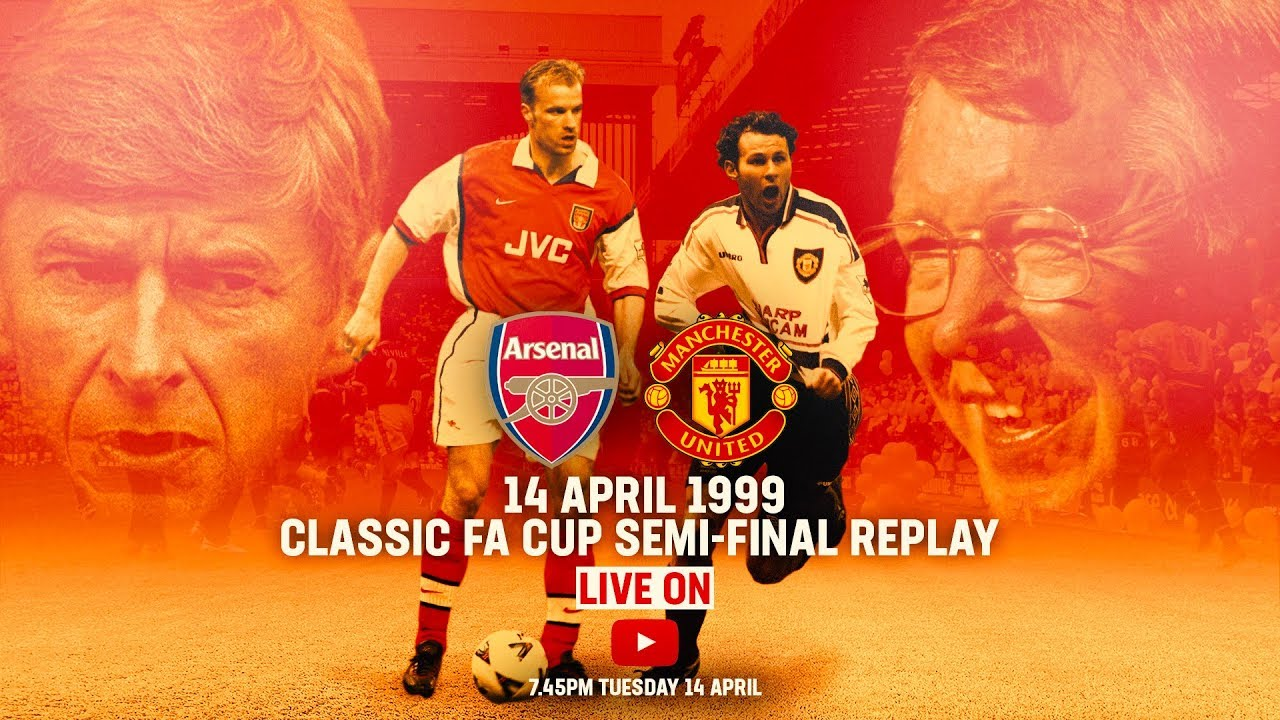 Manchester United vs Arsenal | FULL MATCH LIVE | Emirates FA Cup Classic | FA Cup 1998/99