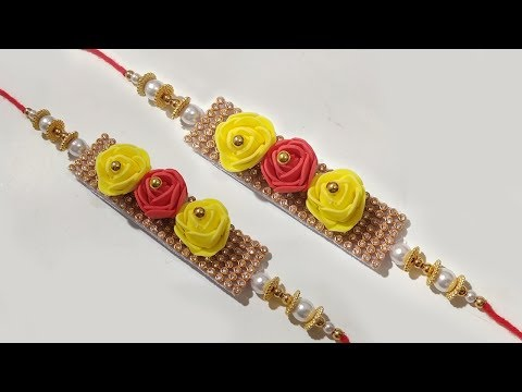 How To Make Beautiful Rakhi  | New Idea For Raksha Bandhan Rakhi | 2019