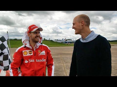 Sebastian Vettel Is My Biggest Fan