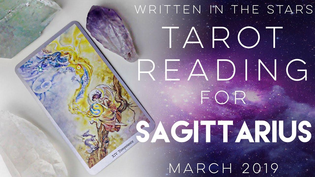 sagittarius tarot reading march