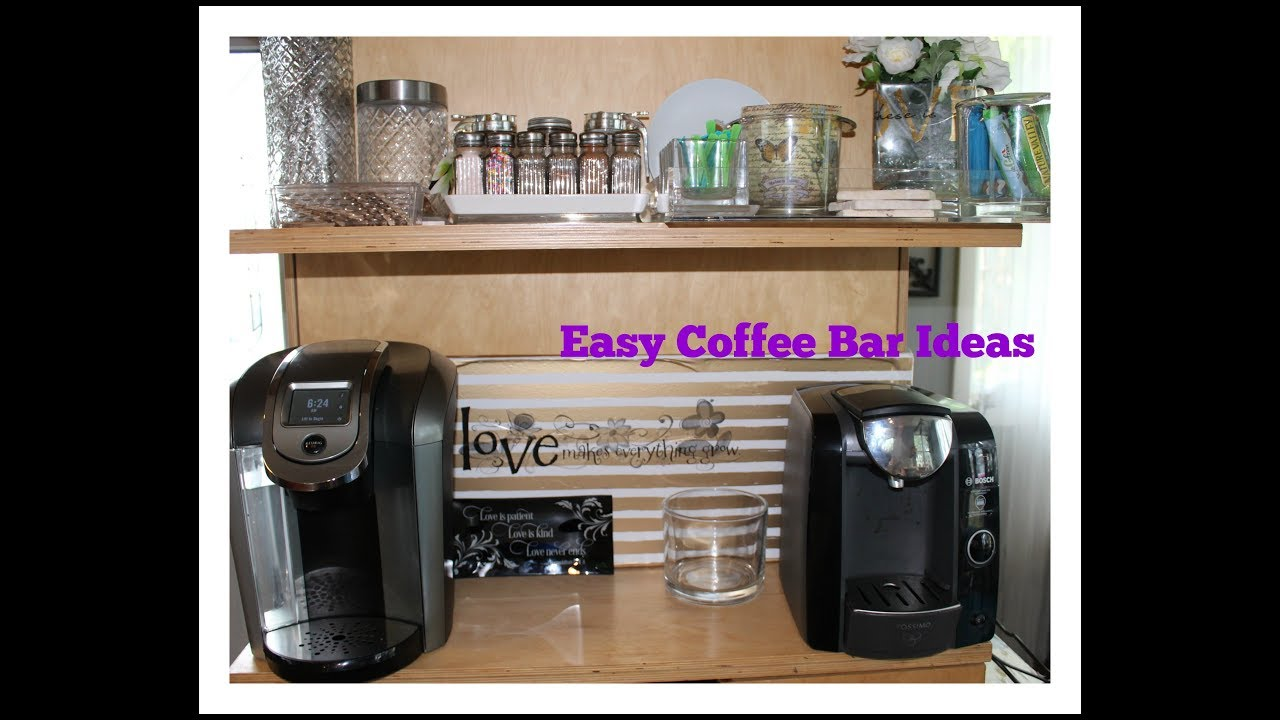 Home Tour Coffee Bar Ideas Youtube