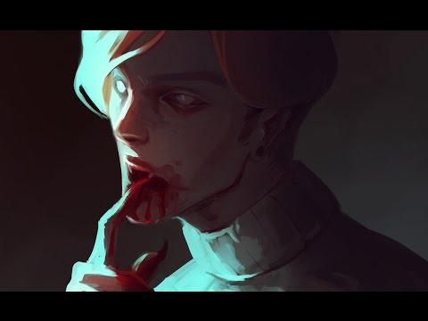 Speedpaint (ClipStudio) Vampire