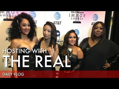 NAACP Image Awards & The Real | That Chick Angel TV