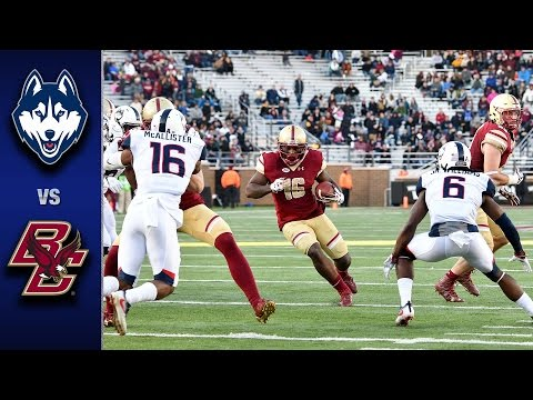 Boston College vs. UConn Football Highlights (2016)