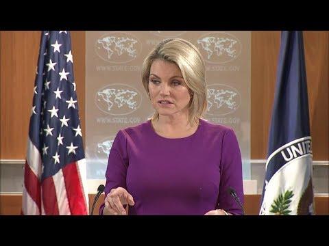 Department Press Briefing - October 12, 2017