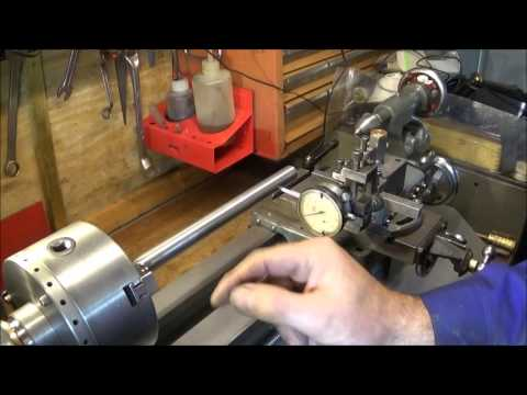 Important Tests For Myford Lathes & How To Adjust To Remove A Turning Taper