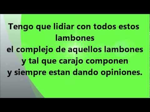 El mejor de todos los tiempos con letra - Daddy Yankee