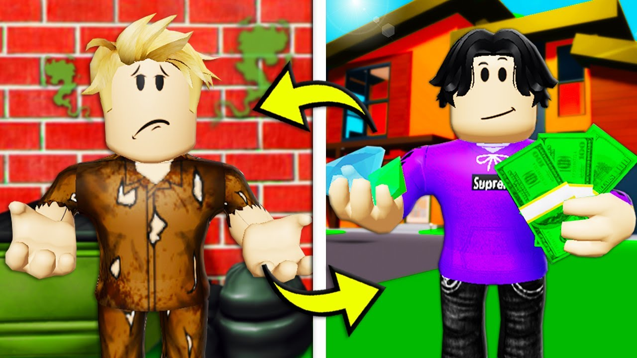 Switched At Birth With A Billionaire! (A Roblox Brookhaven RP Movie)