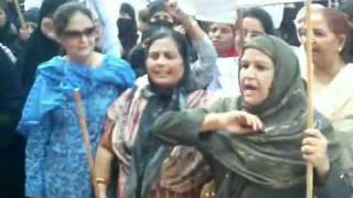 WOMEN PROTEST AGAINST PROPOSED ZAKIR NAIK. URF KHAL NAIK