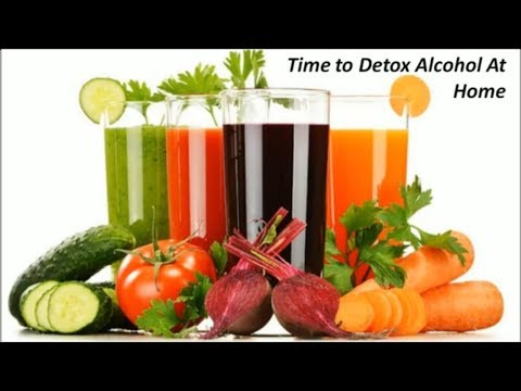 Time to Detox Alcohol Completely at Home