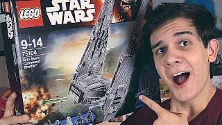 LEGO Star Wars Шаттл Кайло Рена - НАБОР НА ОБЗОР (75104)