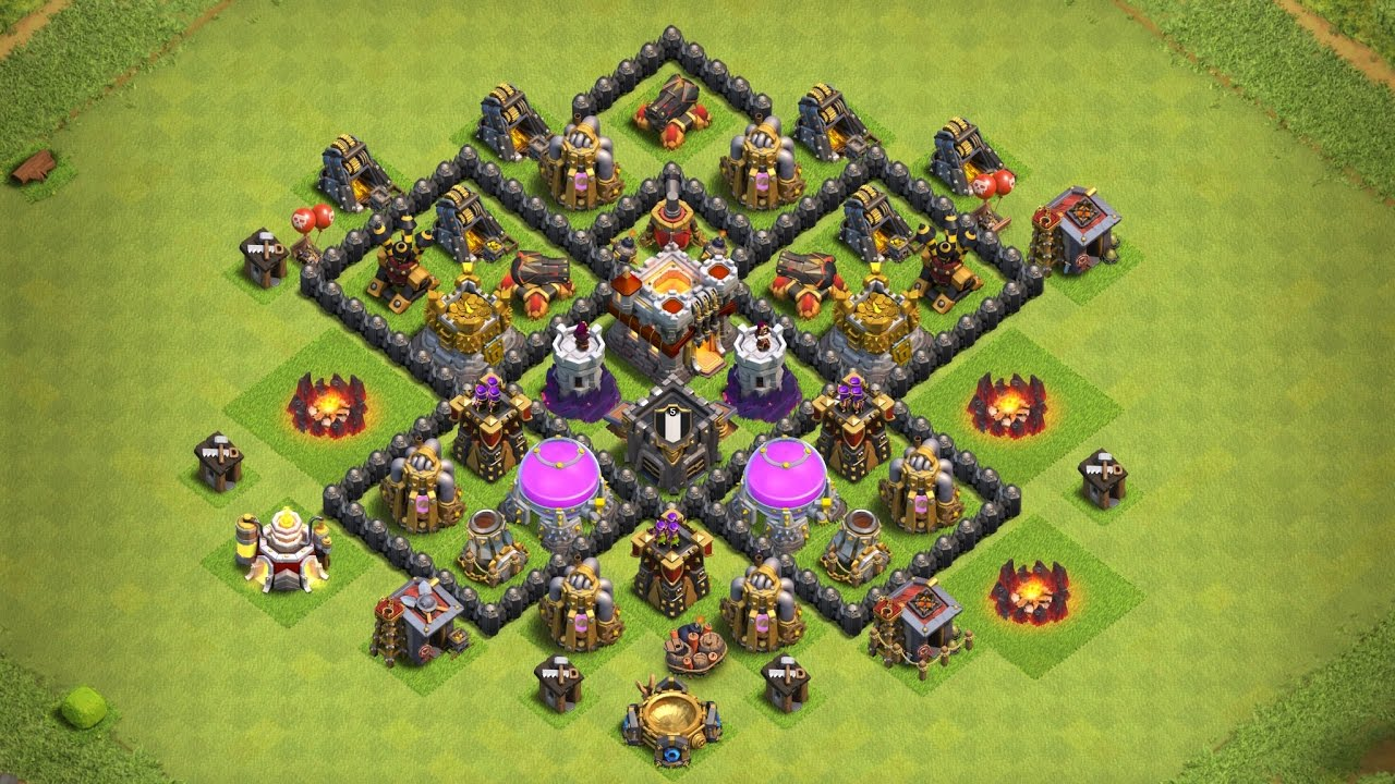 Undefeated Coc Th 6 Base 3