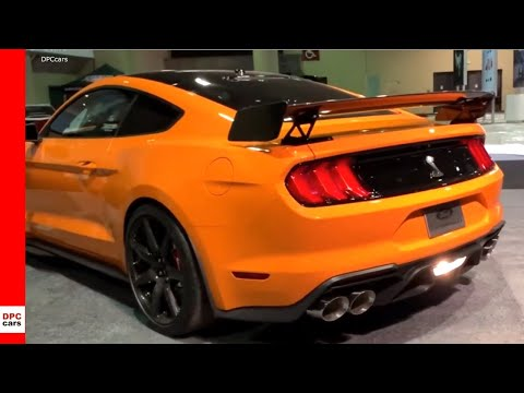 2020 Shelby GT500 Ford Mustang Achieving 0-100-0 in 10.6 seconds