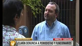 Visión 7: Sabbatella, sobre la denuncia del Grupo Clarín contra periodistas y funcionarios