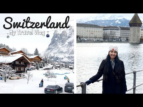 My Switzerland Trip: Zurich, Lucerne, Interlaken, Maison Cailler | Travel Vlog