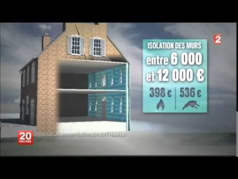 Loi sur la Transition Énergétique - Agence Française pour l'Isolation de l'Habitat - JT France 2