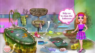 Best Games for Kids - Fun Baby Girl Cleaning Games Messy House Educational Kids Games  # 304