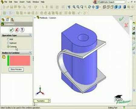 solidworks how to find open contour