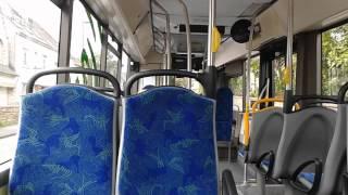Balade à bord de l'Irisbus Citélis 12 GNC n°636 du réseau QUB