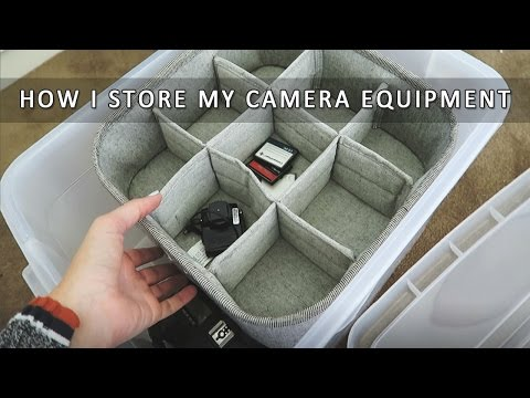 How I Store My Camera Equipment