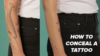 How to Hide a Tattoo With Makeup | Beauty Junkie