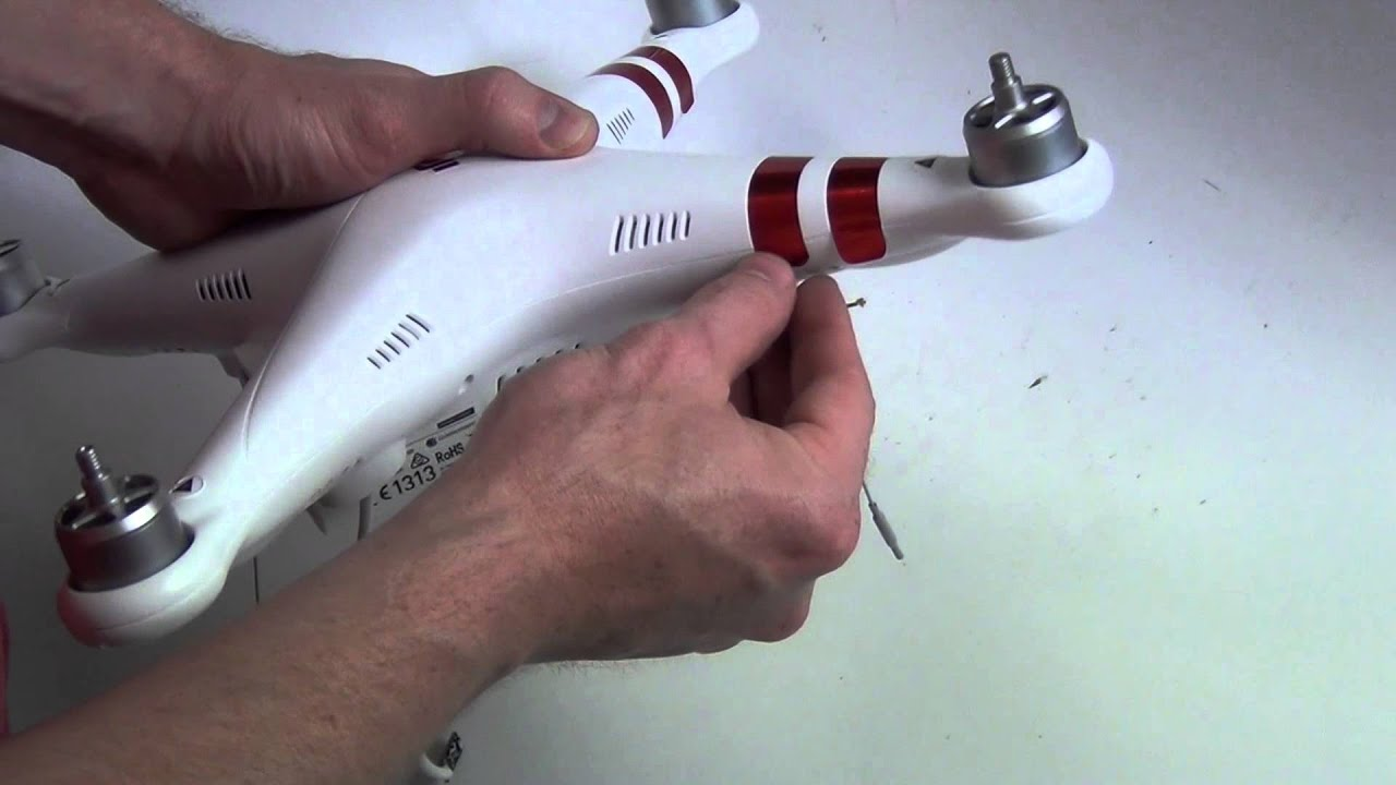 How to Take Apart the DJI Phantom 3 Drone Quadcopter