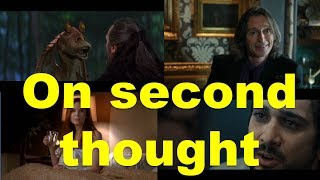 Английские фразы: On second thought (примеры из фильмов и сериалов)