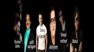 Bollywood hindi indian collection songs part 5 rare ks,udit,sonu,abhijeet,vinod & babul songs