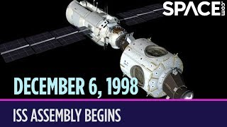 OTD in Space - Dec. 6: International Space Station Assembly Begins