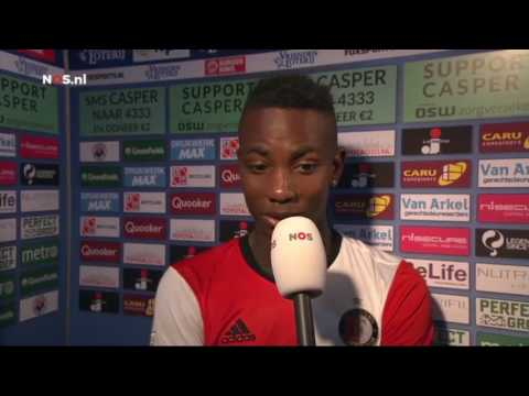 Interview Eljero Elia na afloop Excelsior Feyenoord 3-0