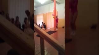 Моя сестра. Гимнастический танец