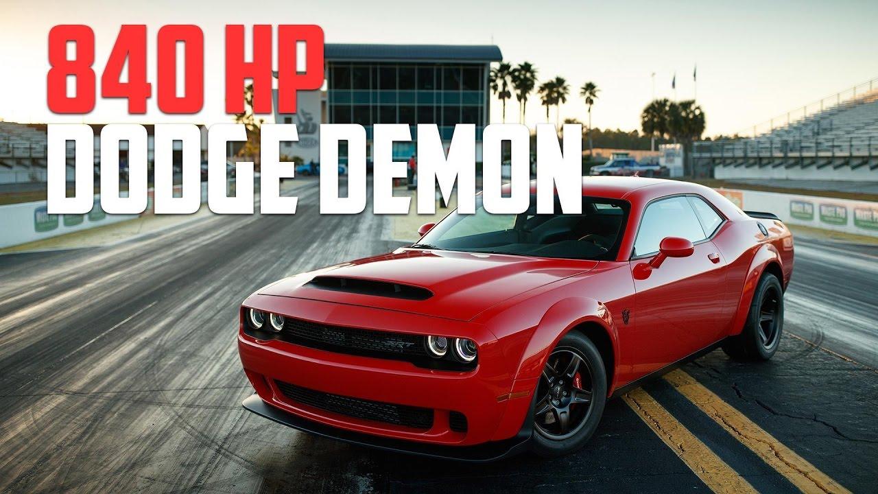 2018 Srt Dodge Demon Horsepower Charger Challenger Depreciation