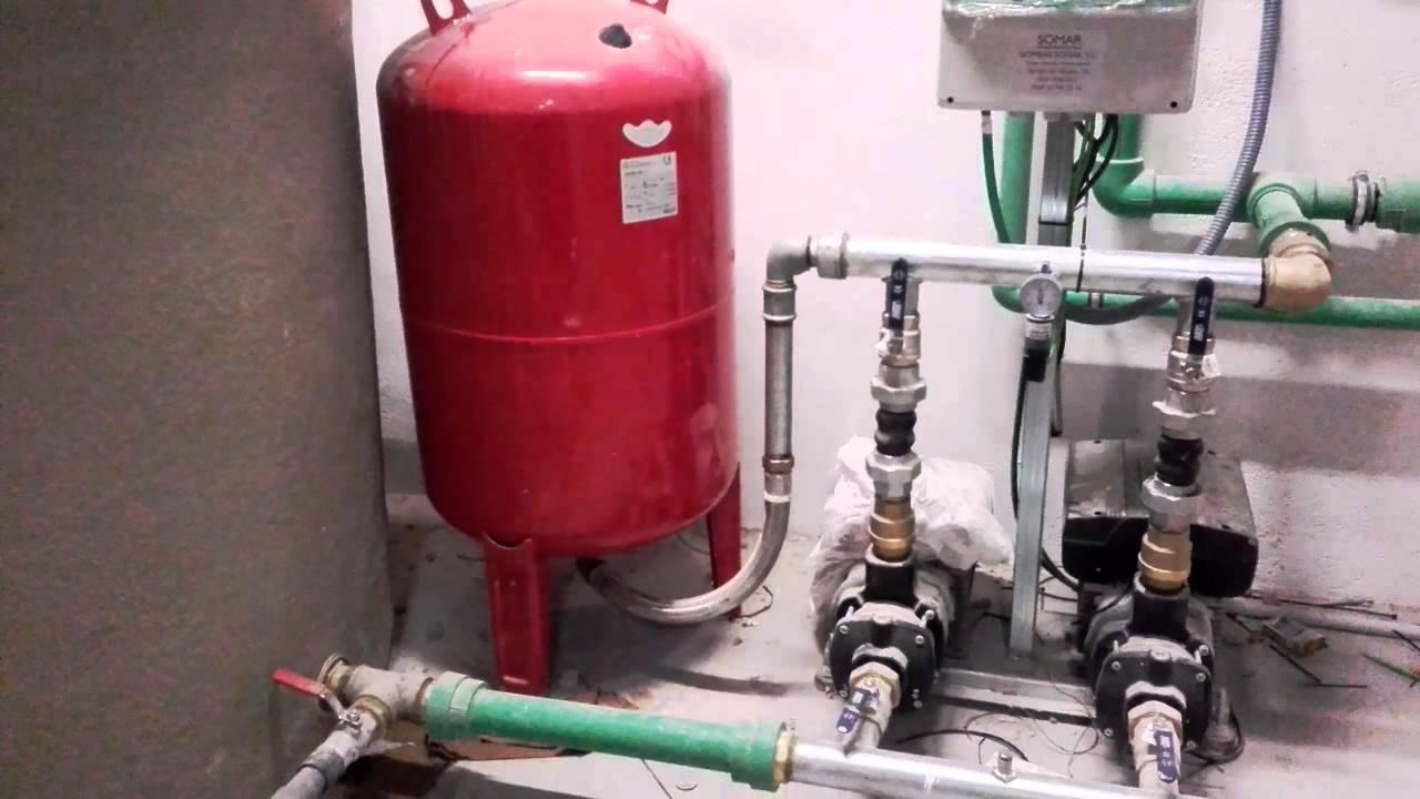 Instalaci n grupo de presi n de agua youtube - Grupo de presion ...