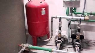 Instalación grupo de presión de agua