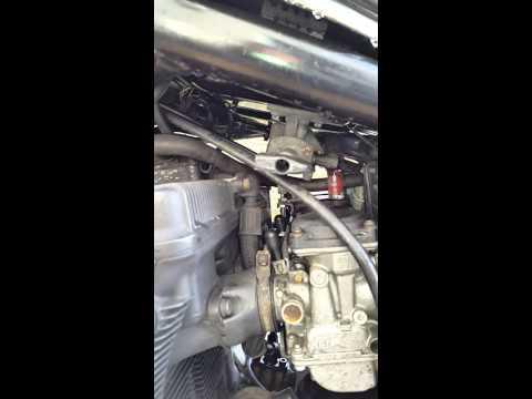 Repeat Quick Fix #1 Motorcycle Lean Misfire Vacuum Leak Diagnosis by