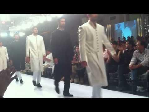 Amir Adnan makes a fashion week debut.MOV