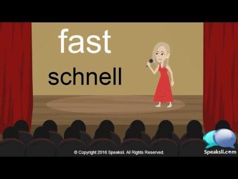 German Karaoke 1 | A Thousand Years | Learn German | Speaksli