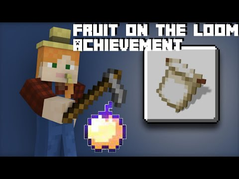 How To Find Enchanted Apple For Fruit On The Loom Achievement / Trophy In Minecraft