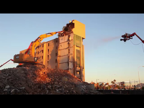 ASU Cholla Apartment Demolition 2016