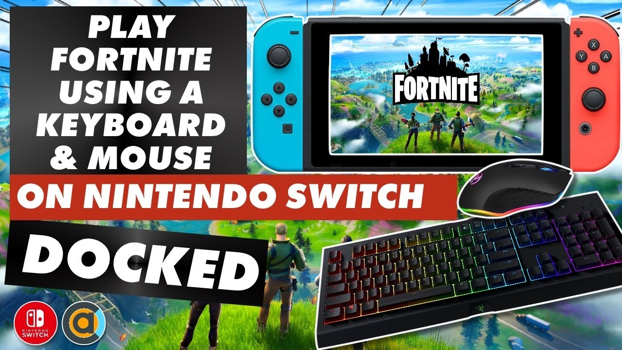 How To Play Fortnite With A Keyboard Mouse On Nintendo Switch Docked Answering Your Questions Youtube