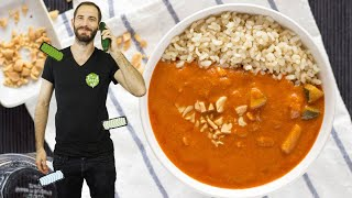 Superb African Peanut Soup | Hurry The Food Up