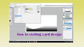 how to make visiting card in Adobe Photoshop 7 0 / adobe