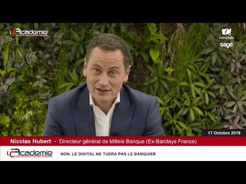 Les Entretiens de l'Académie : Nicolas Hubert