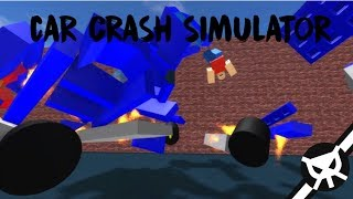 BeamNG Drive ON ROBLOX?! ▼ Car Crash Simulator ▼ Part 1