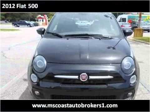2012 Fiat 500 Used Cars Ocean Springs MS