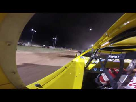 Plymouth Dirt Track Late Model Feature 8-14-16
