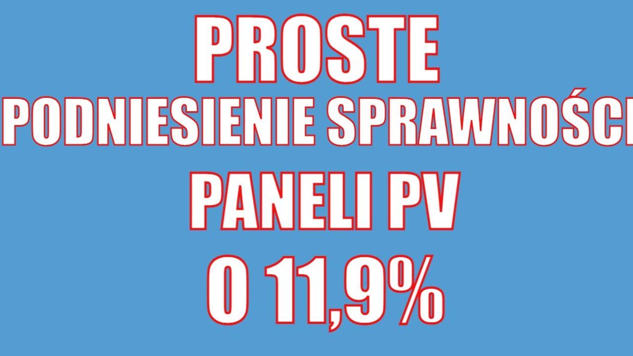 Download Pomysł jak podnieść sprawność paneli o 11,9%
