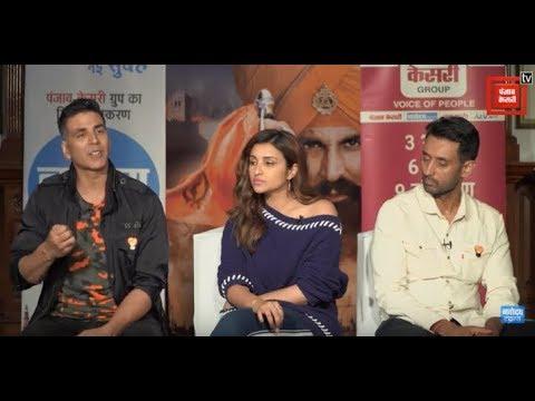 Film 'Kesari' Starcast Exclusive Interview | Akshay Kumar | Parineeti Chopra | Anurag Singh
